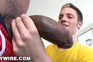 GAYWIRE - Twink Jesse Jordin Acquires His Tight Ass WRECKED By Castro Supreme'_s Big Dick