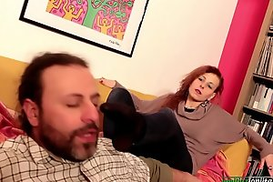 Amanda VS Concoction - Femdom Pussy and Foot Put to rout