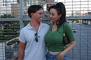 Naughty MILF Adrianna Fucking Her Hot Date