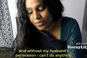 Bored Indian Housewife begs for threesome in Hindi relative to Eng subtitles