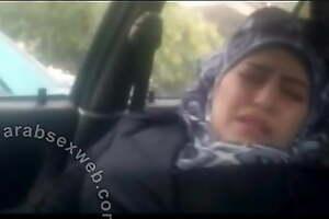 Syrian Girl In Car