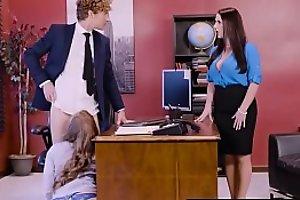 Big Jugs at one's fingertips Work - Porn Logic scene vice-chancellor Angela White, Lena Paul &_ Michael Vegas
