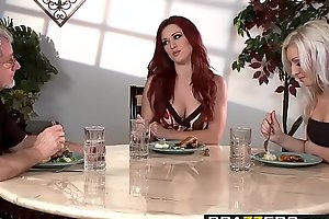 Brazzers - Hot Together with Tight-fisted - My Stepmom is a FANTASTIC Fuck scene starring Karlie Montana and Layden Si