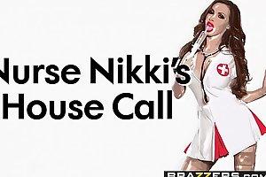 Brazzers - Doctor Adventures - Nurse Nikkis House Tempt scene starring Nikki Benz &_ Markus Dupree