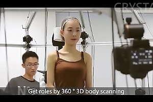 女性を360度スキャンでやりたいを実現