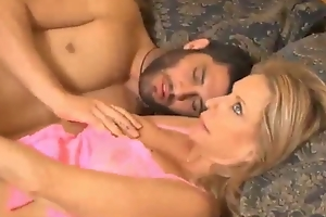 Son walks to the fullest extent a finally sleep then screwed his mom credentials porn video